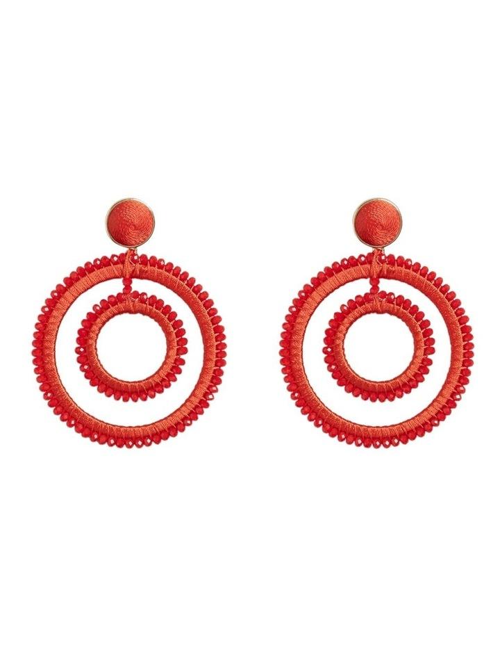 Double Circle Earrings image 1