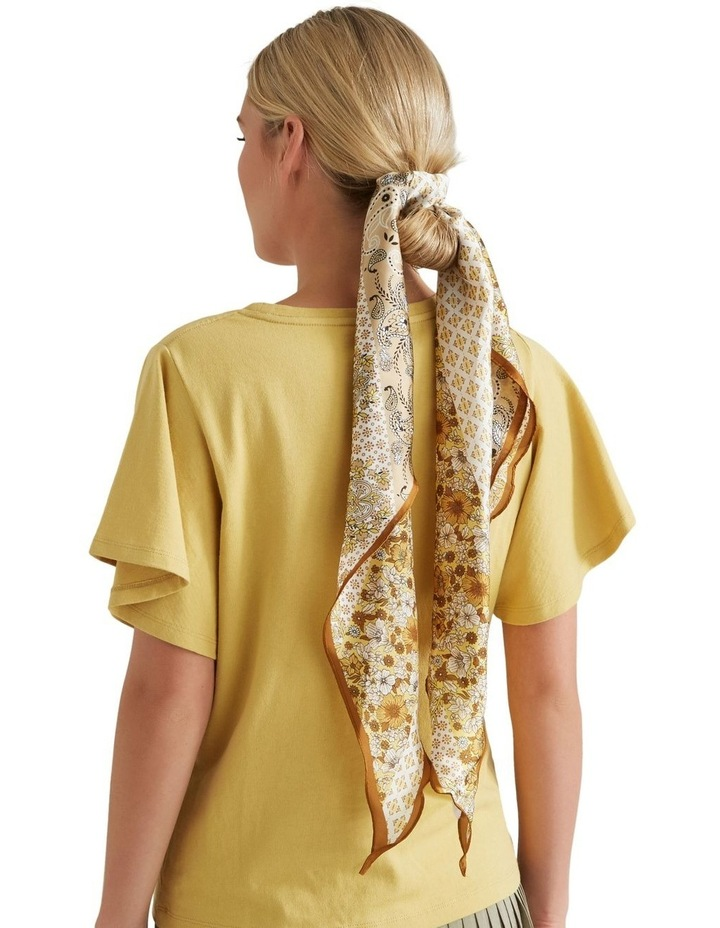 Large Diamond Neck Scarf image 2