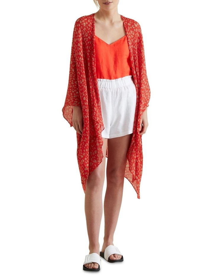 Pleated Summer Poncho image 1
