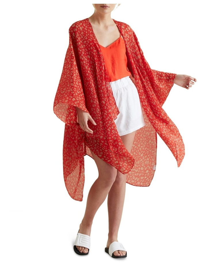 Pleated Summer Poncho image 2
