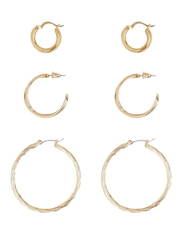 Mixed Gold Hoop Pack image 1