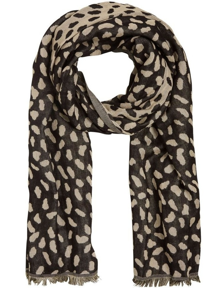 Abstract Spot Jacquard Scarf image 1