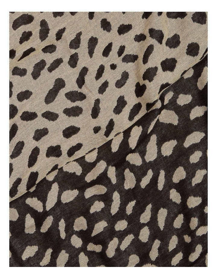 Abstract Spot Jacquard Scarf image 3