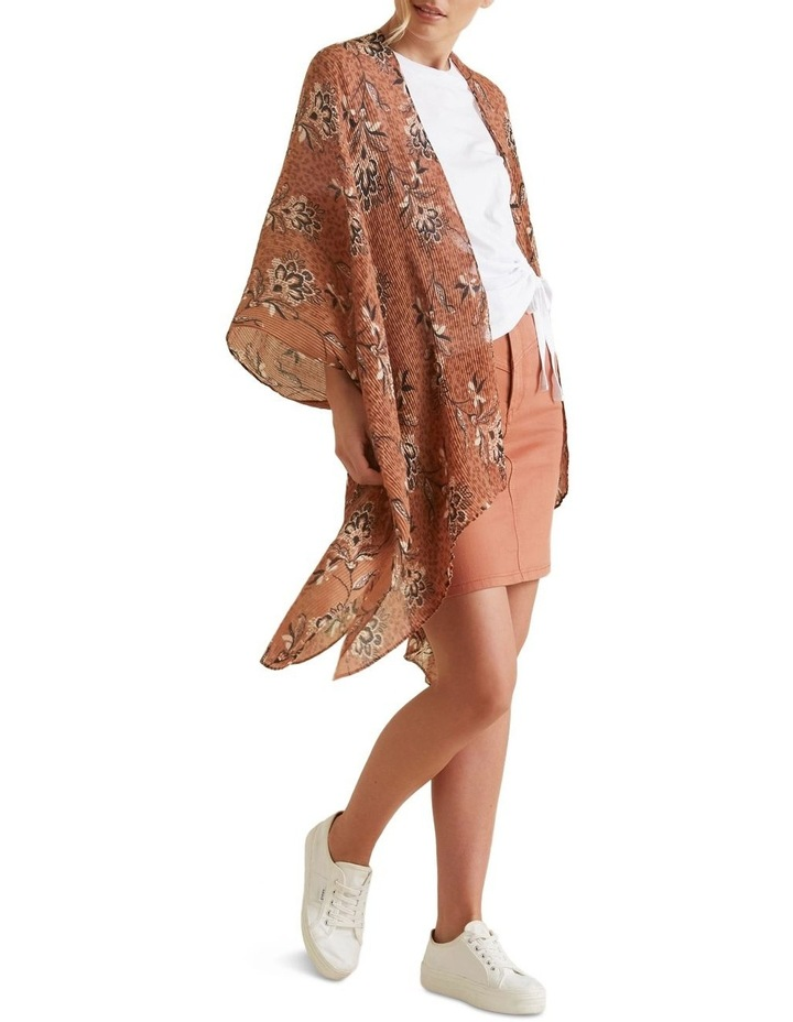 Pleated Summer Poncho image 3