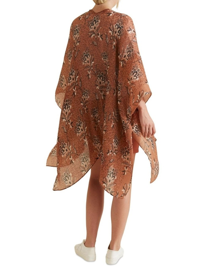 Pleated Summer Poncho image 4