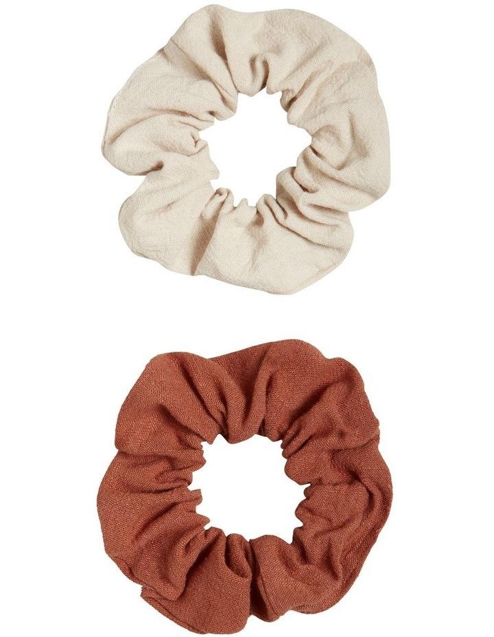 Linen Look Scrunchie image 1