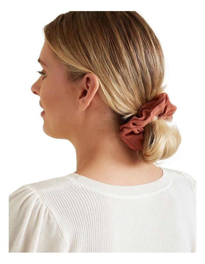 Linen Look Scrunchie image 2