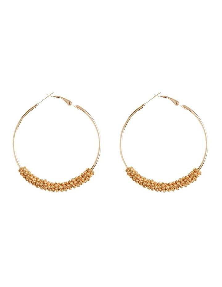 Beaded Hoops image 1