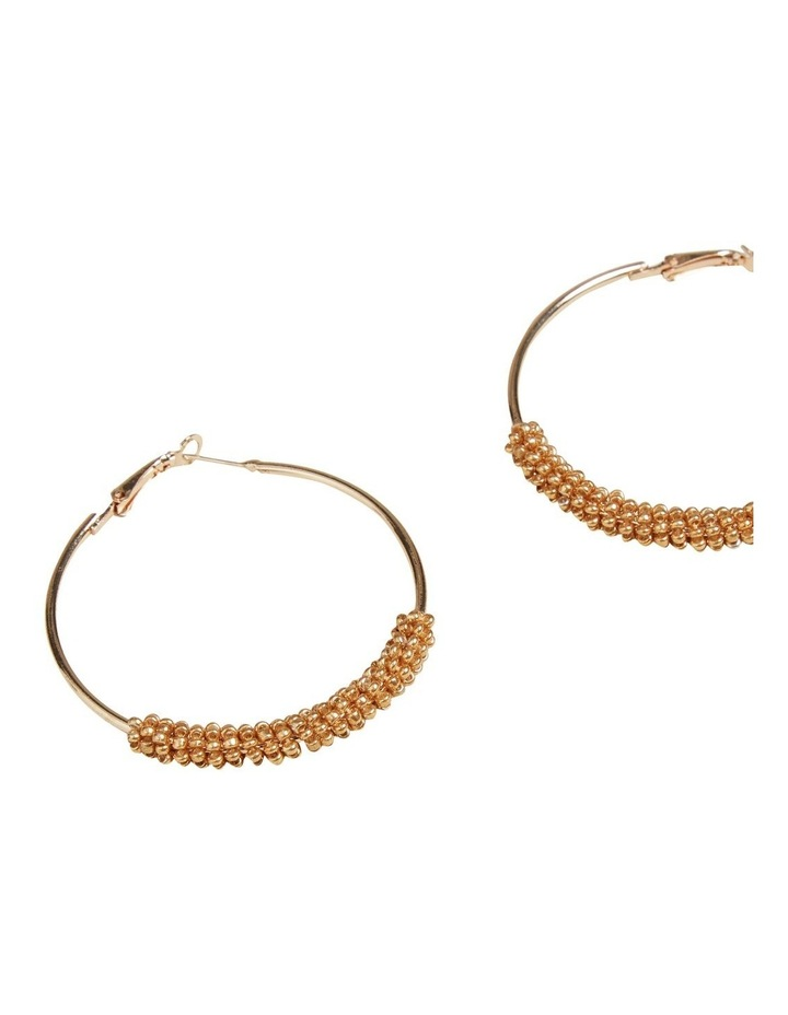 Beaded Hoops image 3