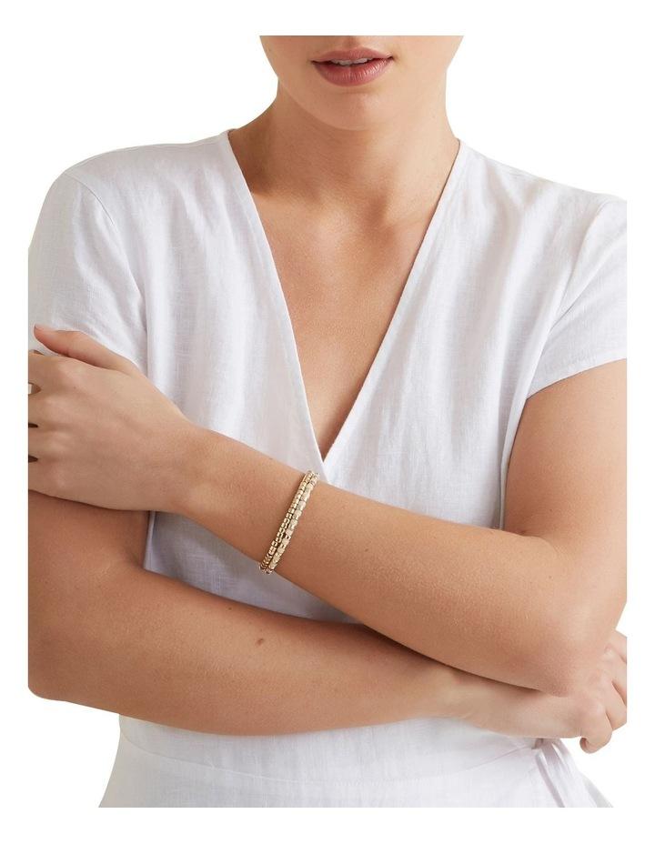 Contrast Bead Bracelet image 2