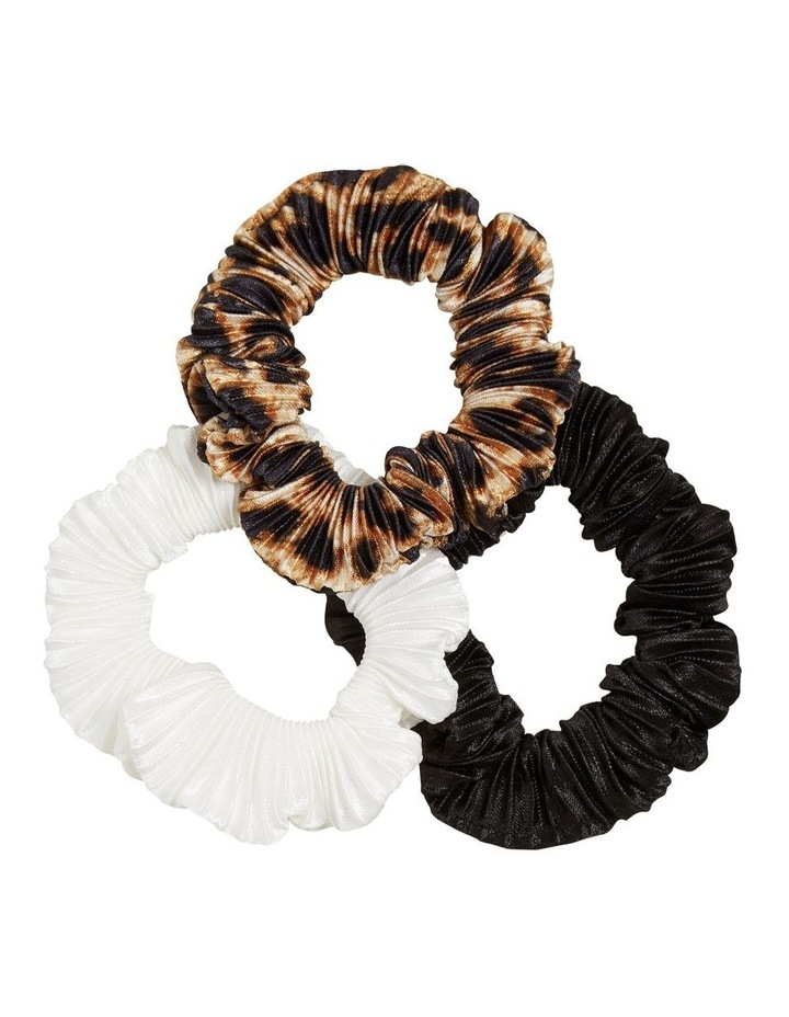 Pleated Scrunchie 3 Pack image 1