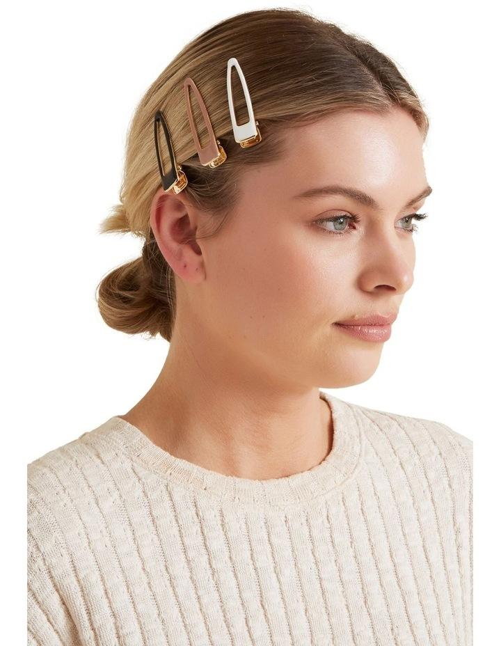 Enamel Hair Clips image 2