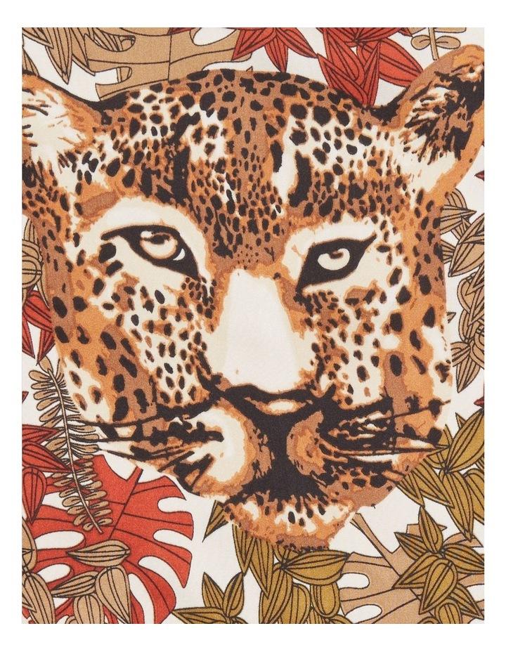 Leopard Square Scarf image 3