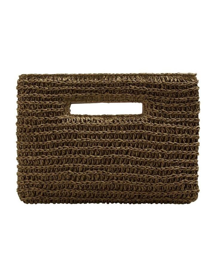 Weave Straw Clutch image 1