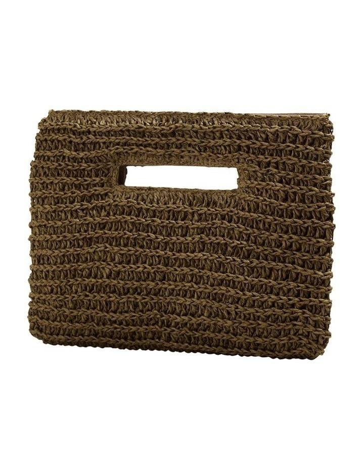 Weave Straw Clutch image 3