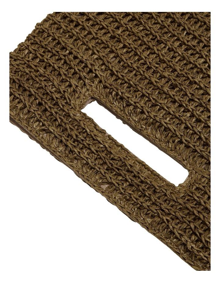 Weave Straw Clutch image 4
