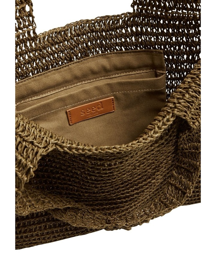 Weave Straw Tote image 5