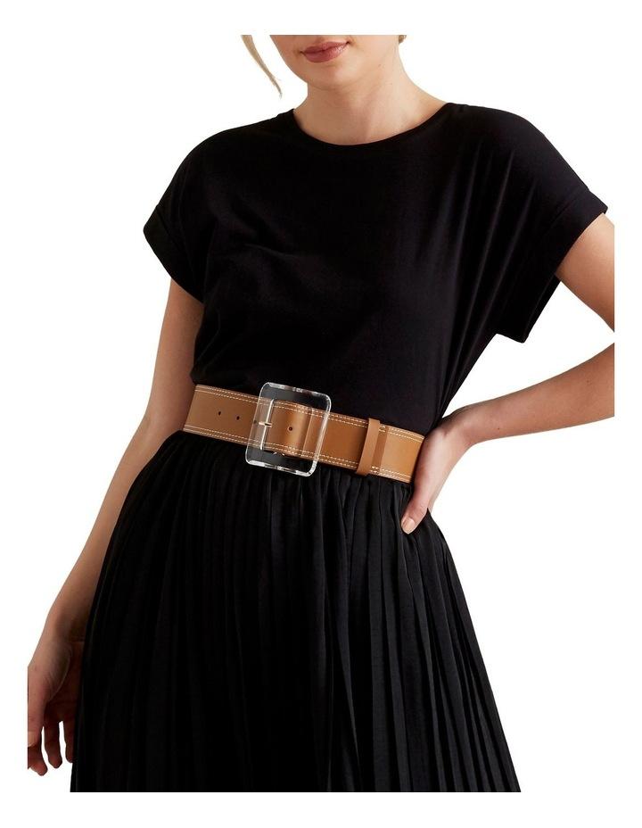 Acrylic Buckle Waist Belt image 2