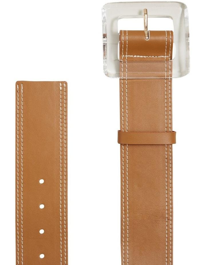 Acrylic Buckle Waist Belt image 3
