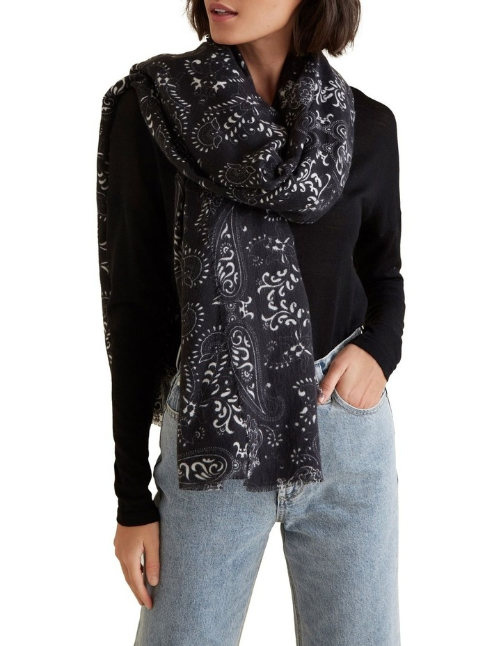 Simple Paisley Scarf image 2