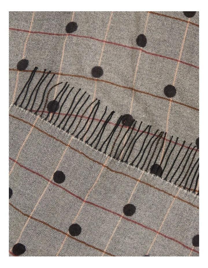 Spotty Check Scarf image 2