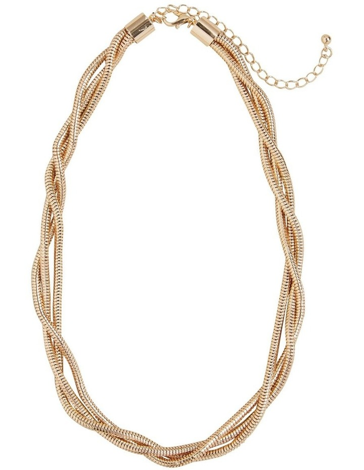 Twisted Gold Necklace image 1