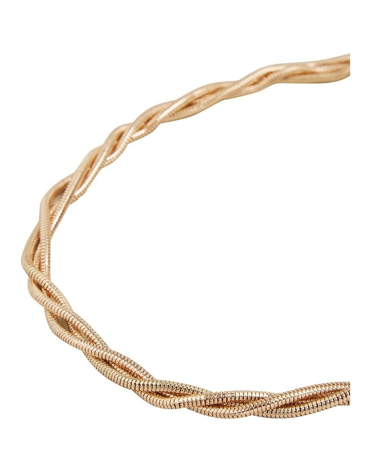 Twisted Gold Necklace image 3