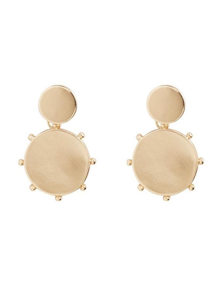 Disc Drop Earrings image 1