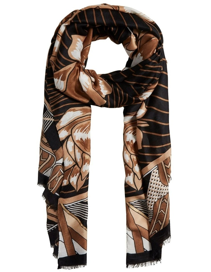 Statement Floral Scarf image 1