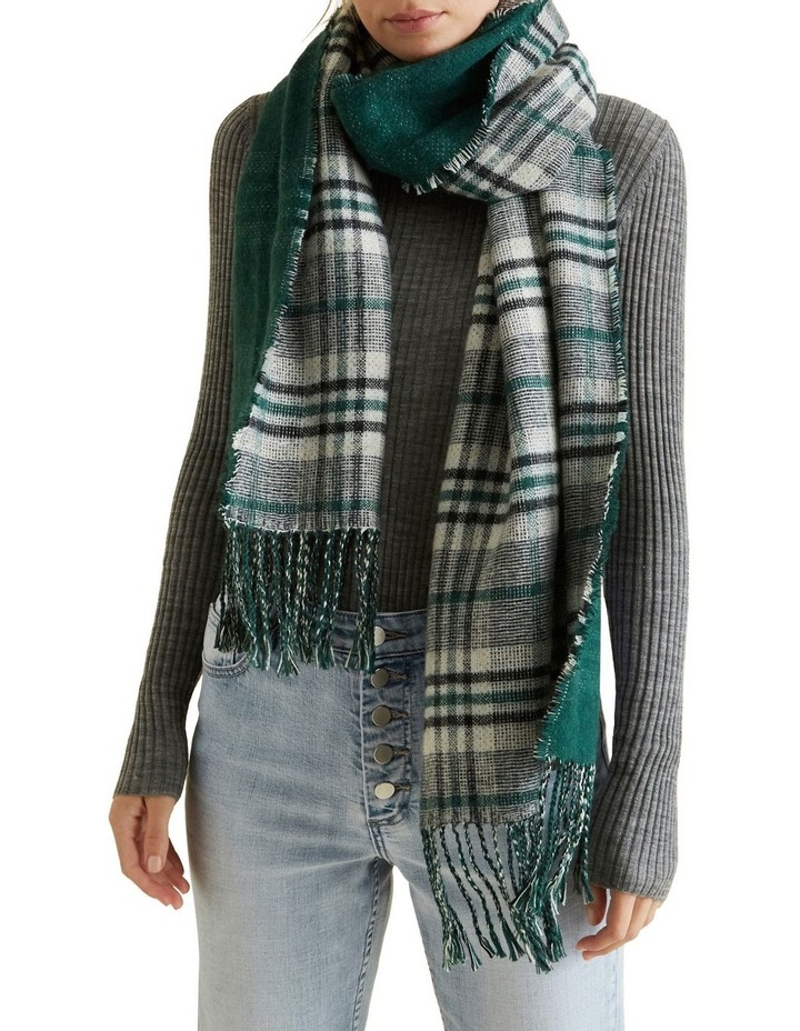 Reversible Check Scarf image 2