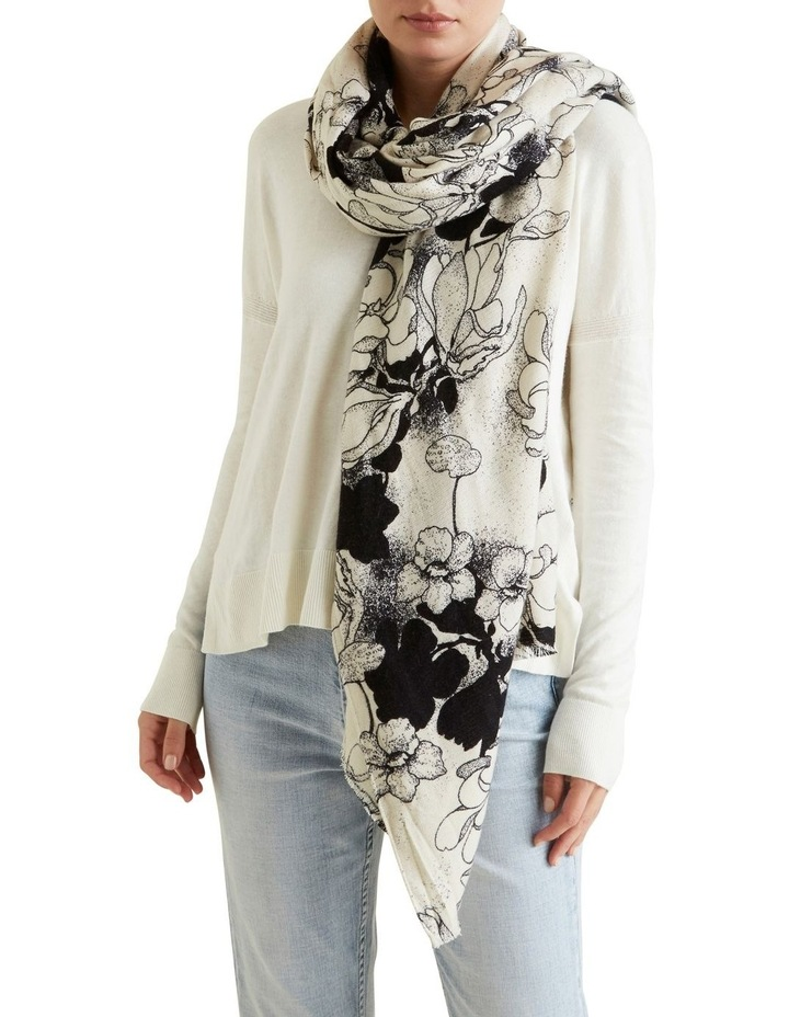Winter Floral Scarf image 2