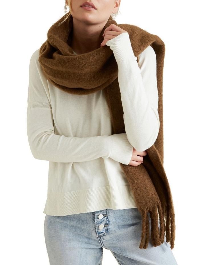 Plush Knit Scarf image 2