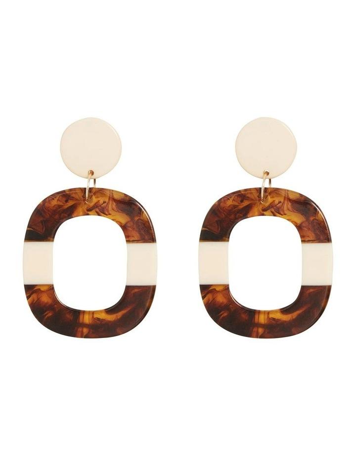 Tort Splice Earrings image 1