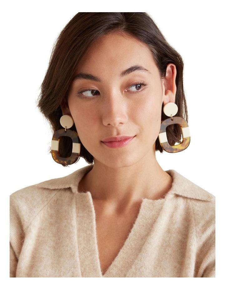 Tort Splice Earrings image 2