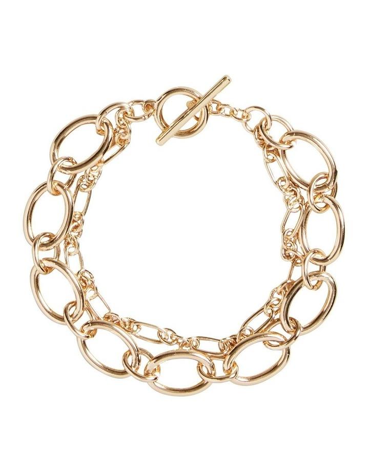 Wide Chain Bracelet image 1
