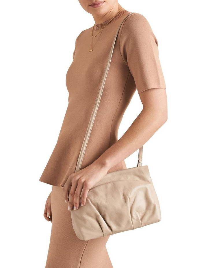 Leather Pleat Sling image 2