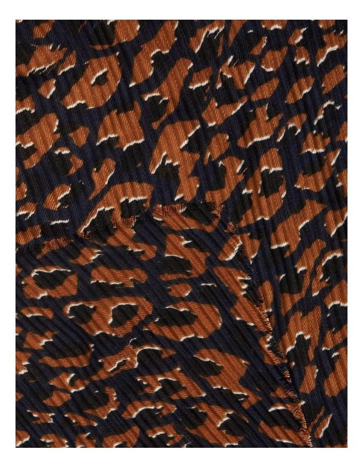 Pleated Ocelot Scarf image 3