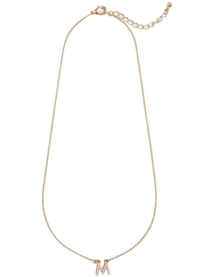 Initial Pearl Necklace image 1