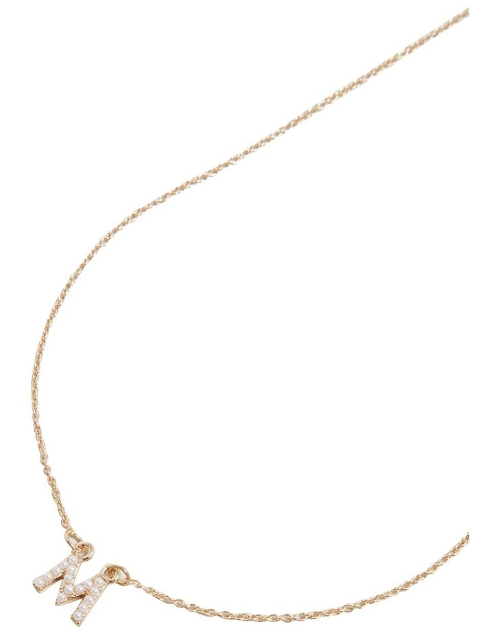 Initial Pearl Necklace image 3