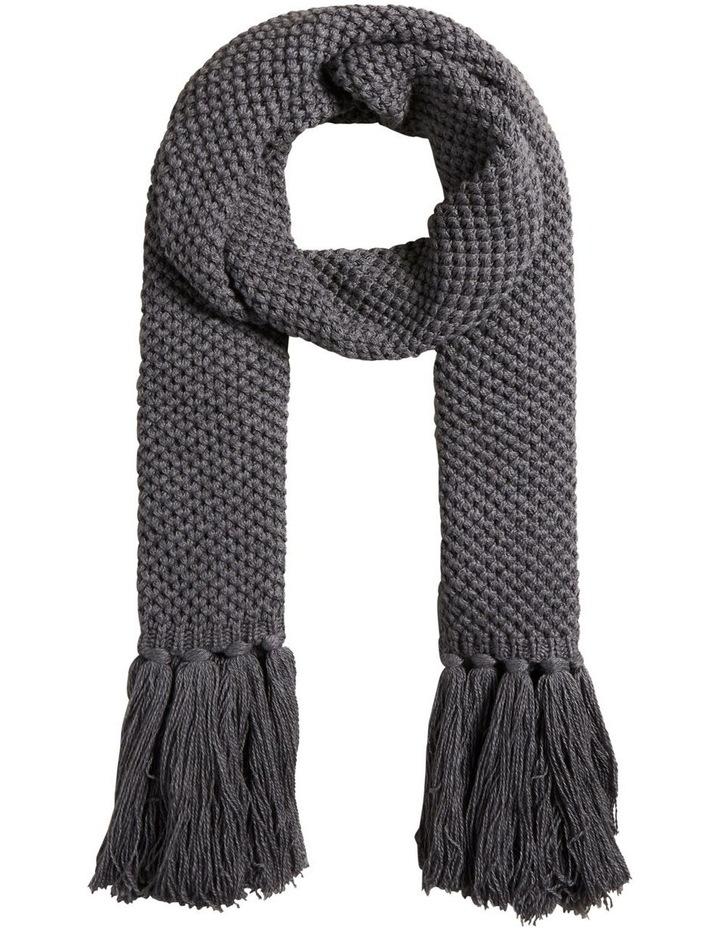 Tassle Knit Scarf image 1