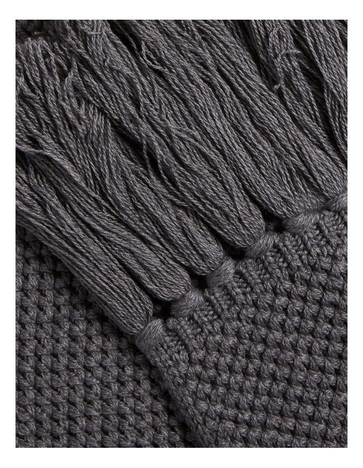 Tassle Knit Scarf image 3