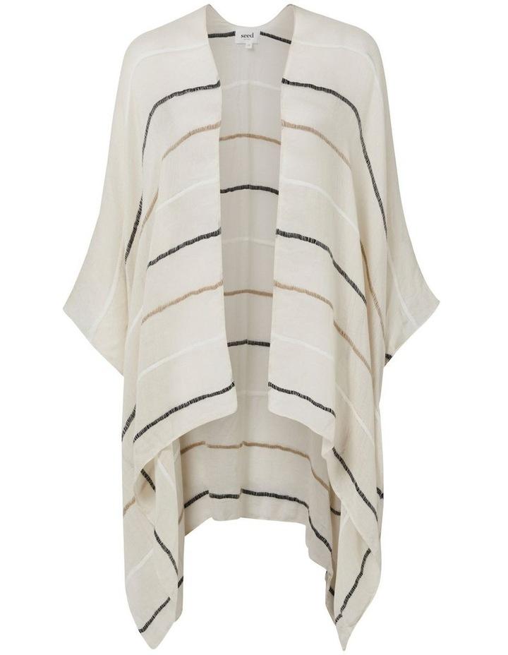 Stripe Poncho image 2