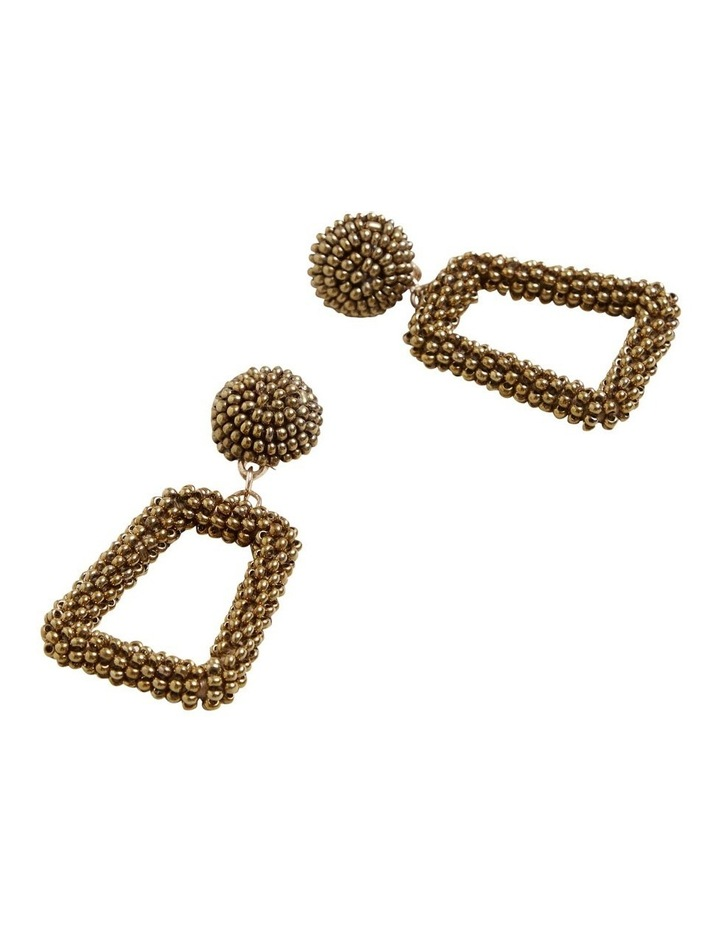 Square Beaded Earrings image 3