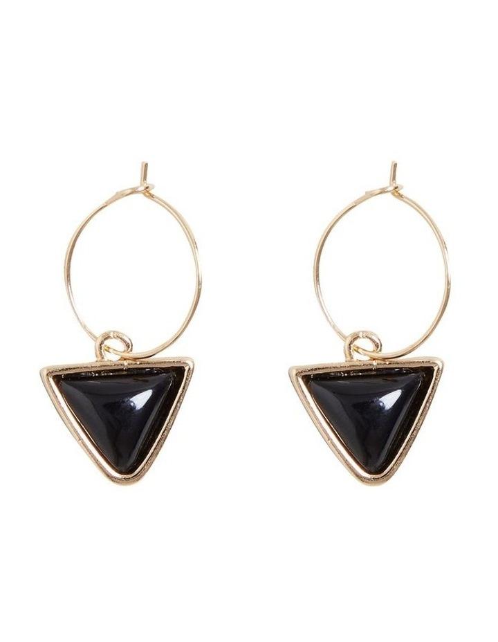 Triangle Drop Earrings image 1
