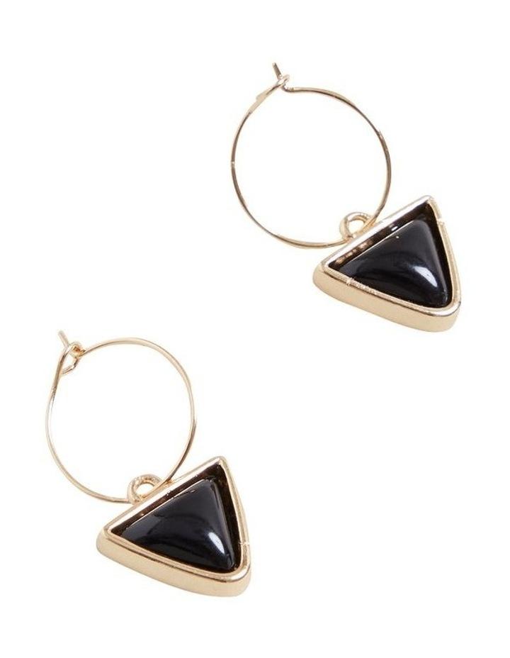 Triangle Drop Earrings image 3