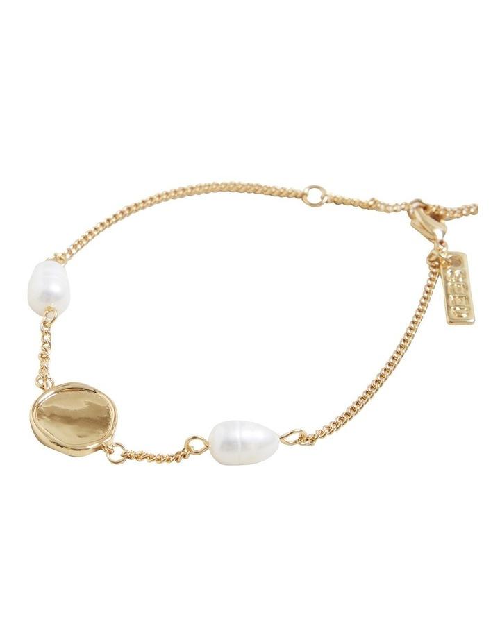 Fine Pearl Disc Bracelet image 3