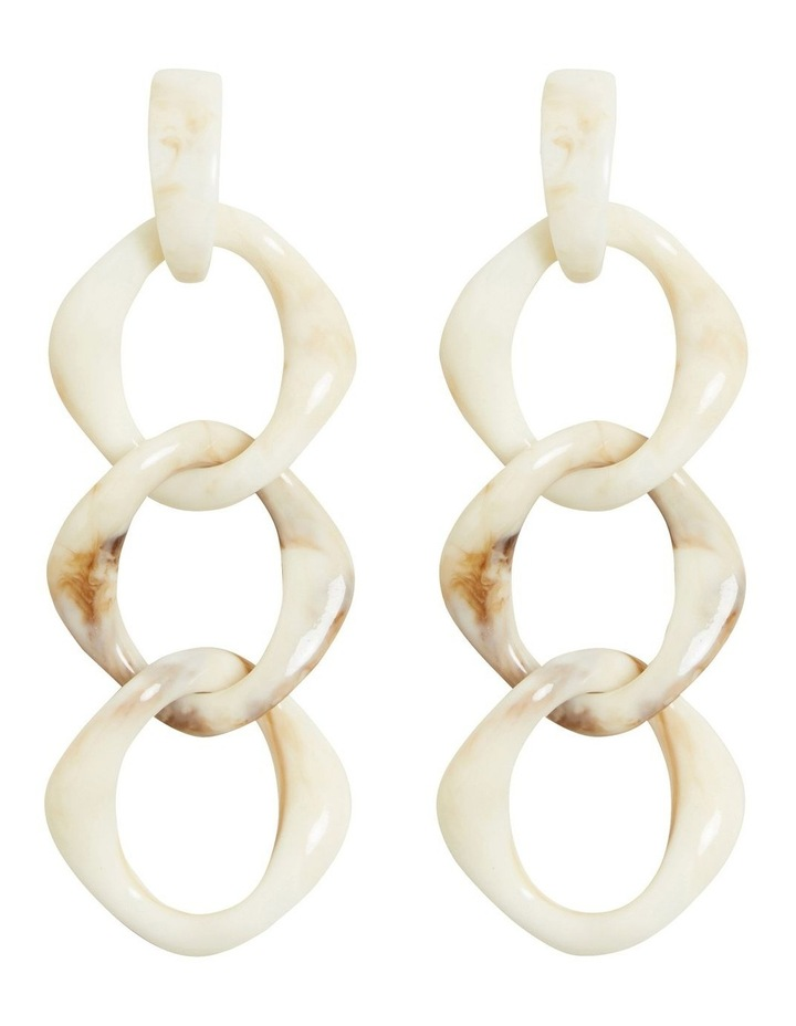 Layered Resin Earring image 1
