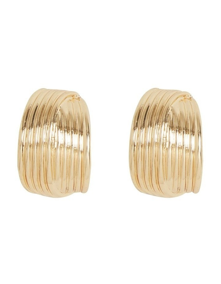 Small Layered Hoops image 1