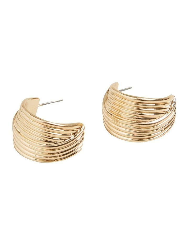 Small Layered Hoops image 3