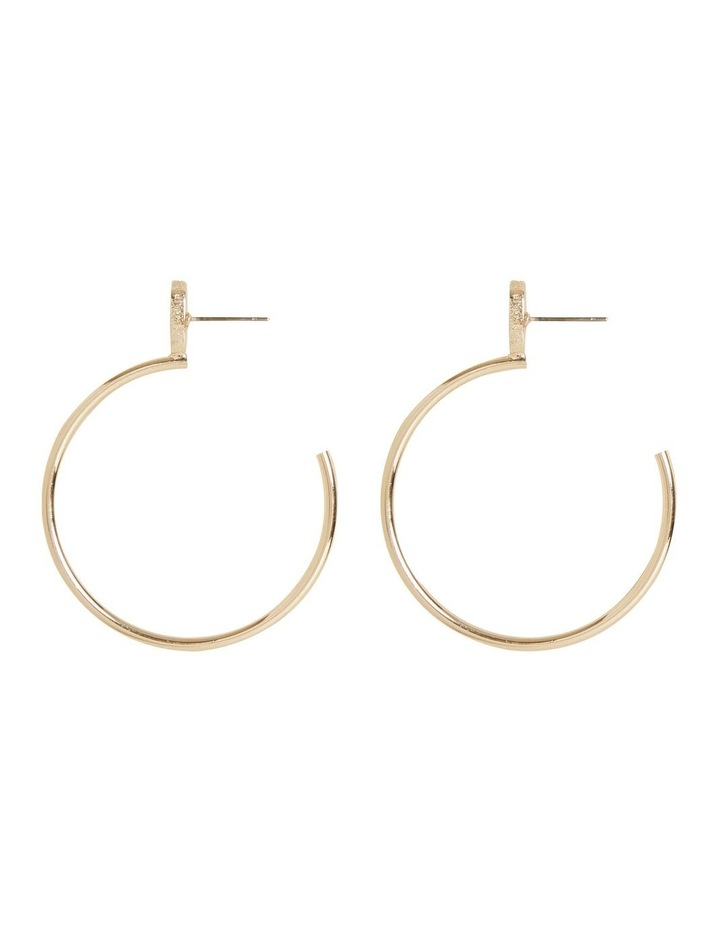 Curved Earrings image 1